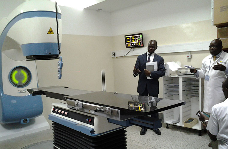 Use of new cancer radiation machine starts in Kenya