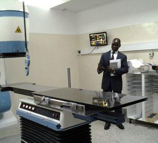 new cancer radiation machine starts